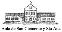 Asociación cultural Aula de San Clemente y Santa Ana