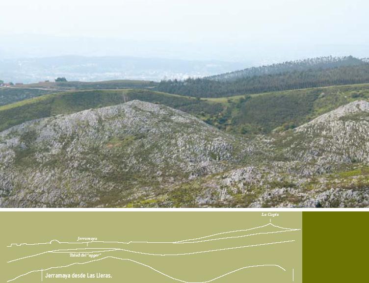 Hallazgos arqueológicos en el Monte Dobra (San Felices de Buelna).